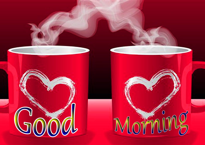 Good Morning best Ful red Cup pic