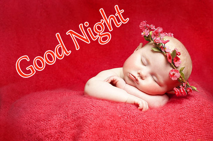Good Night beautiful a cute baby pic