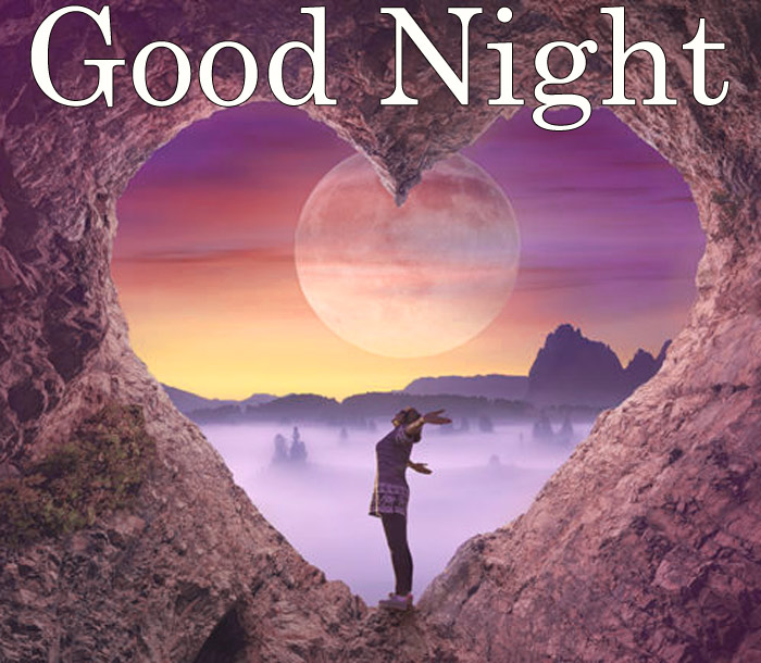 Good Night image with a Love