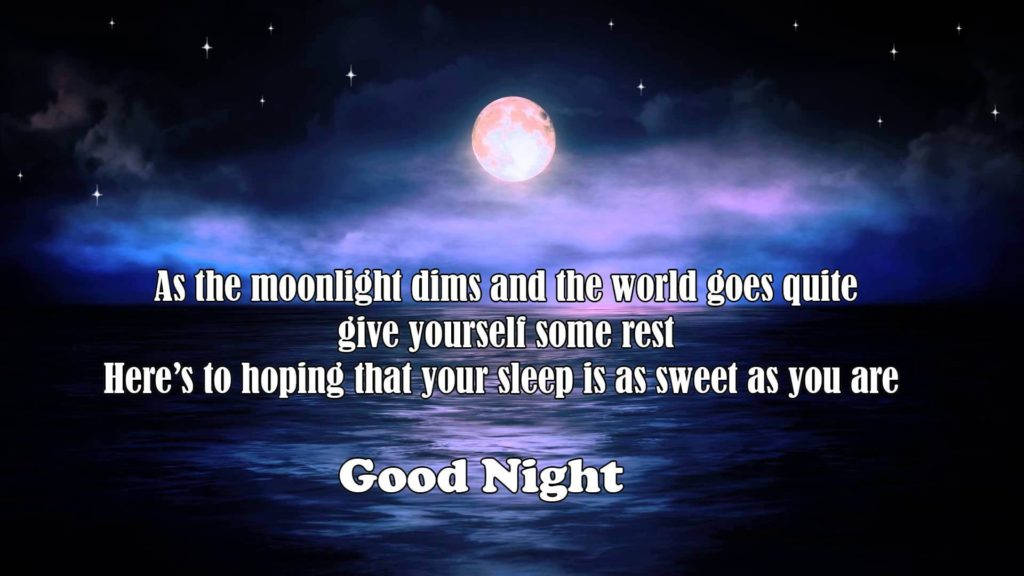 Good Night images with beautiful quotes