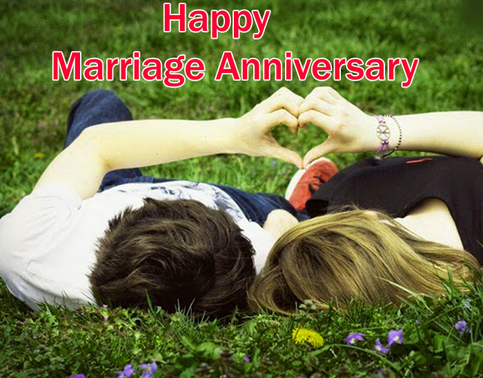 Happy marriage anniversary images with beautiful couples