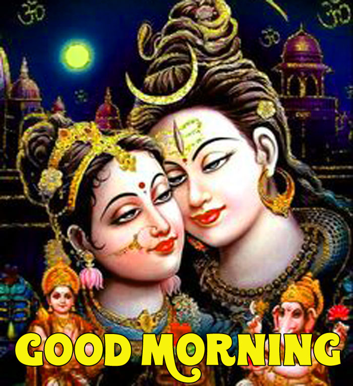 Good Morning Shiva images for facebook hd download