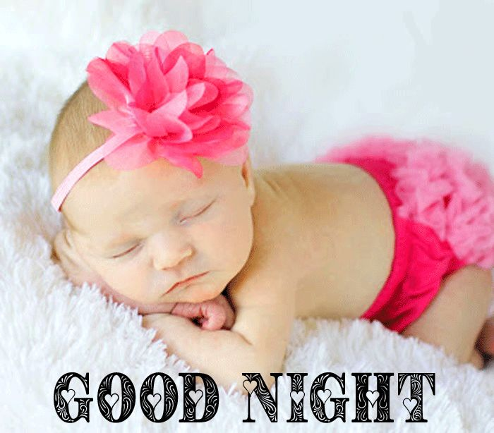 Good Night Cute Baby Sleeping images for facebook hd