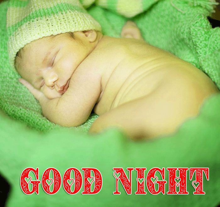 Good Night Cute Baby Sleeping images hd free download