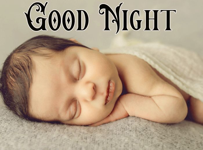 Good Night Cute Baby Sleeping photo for facebook hd free download
