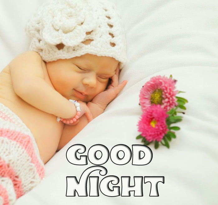 Good Night cute baby girl wallpaper hd