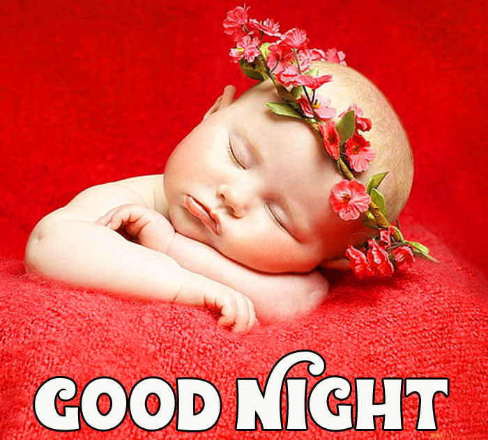 Good Night cute baby happy images hd download