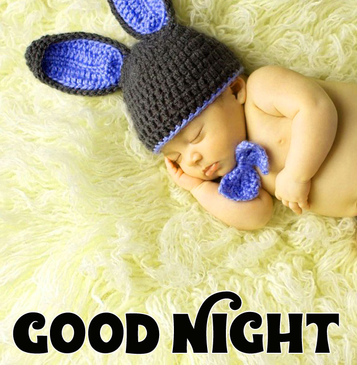 Good Night cute baby images hd download