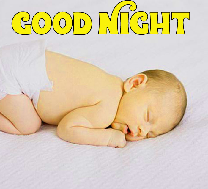 Good Night cute baby photo free download