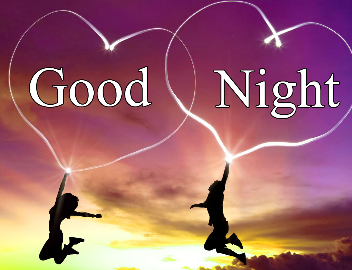 Good Night love couple image hd download