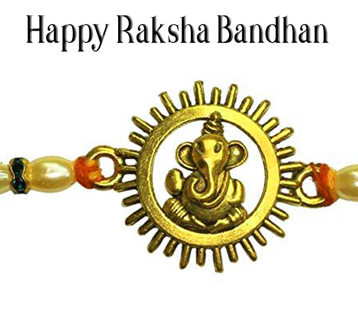 Happy Raksha Bandhan images with ganesha hd