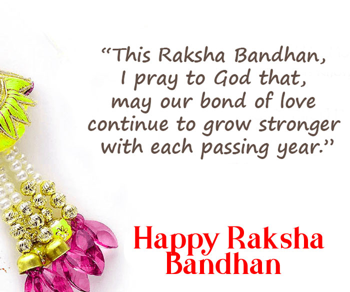 Happy Raksha Bandhan short quotes images