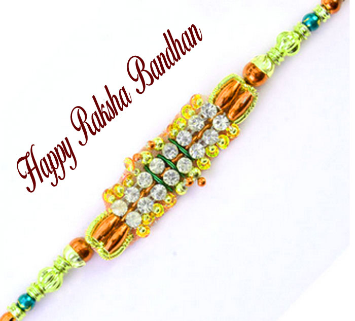 Happy Raksha Bandhan stone hd