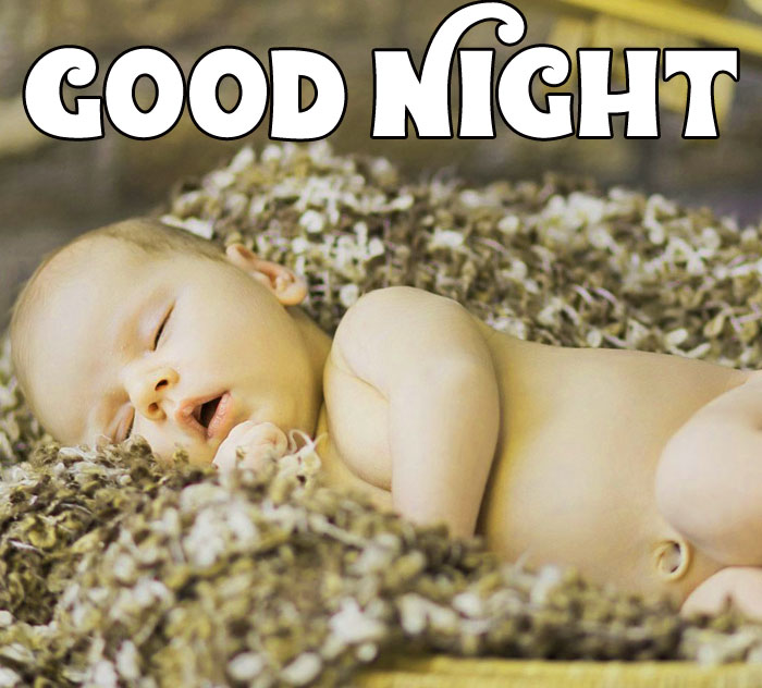 best Good Night baby sleeping images hd download
