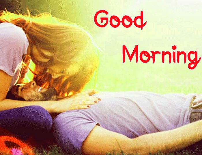 best couple kiss images Good Morning hd photo