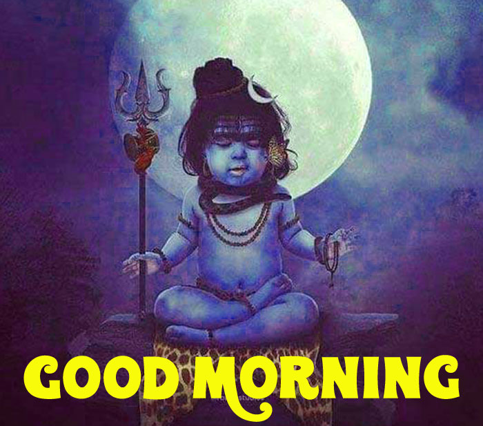 best lord Shiva Good Morning photo free download