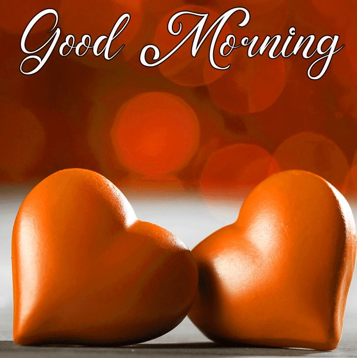 best two love heart Good Morning photo hd