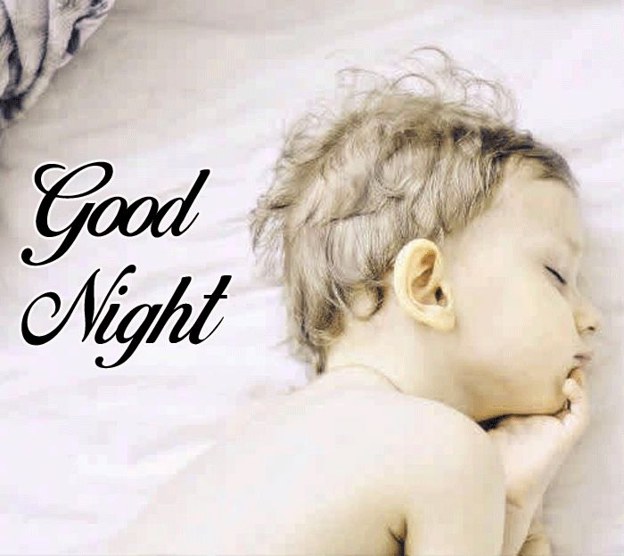 latest Cute Baby Good Night sleeping images for facebook hd download