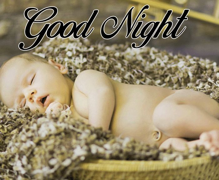 latest Good Night Cute Baby Sleeping picture free download