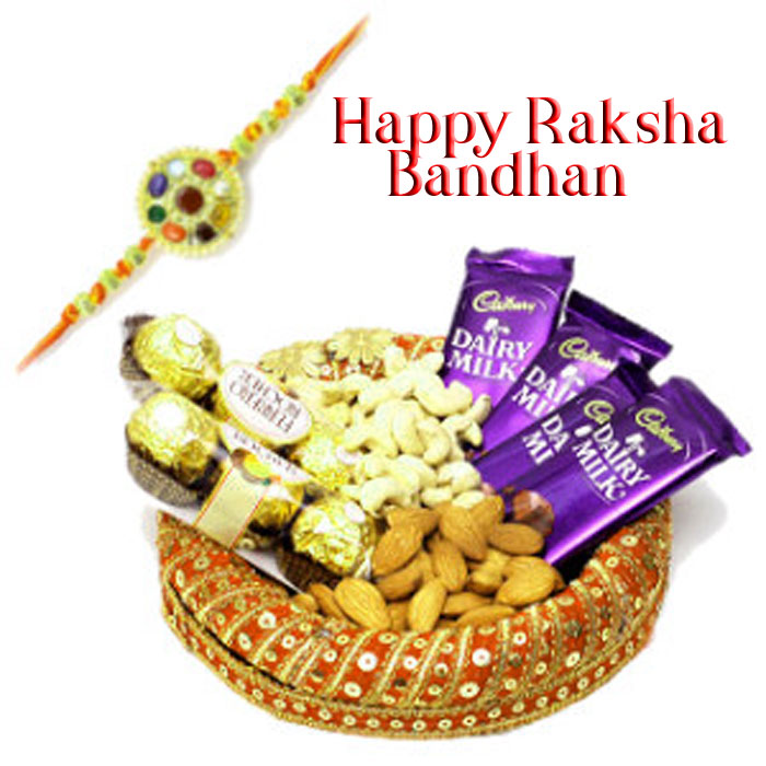 latest Happy Raksha Bandhan cute photo