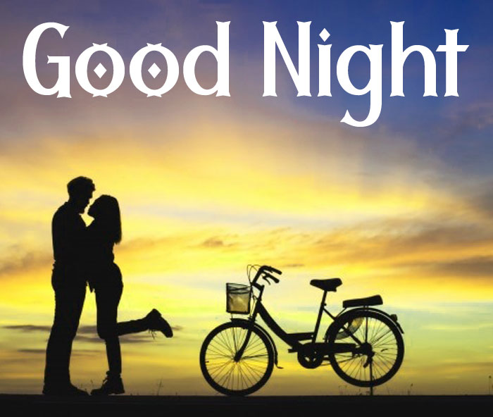 latest couple Good Night hd wallpaper download
