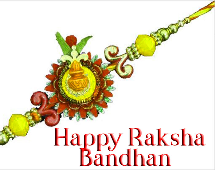 latest cute Happy Raksha Bandhan hd wallpaper