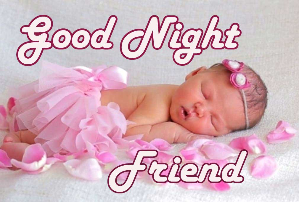 Cute Good Night Photo for Friends