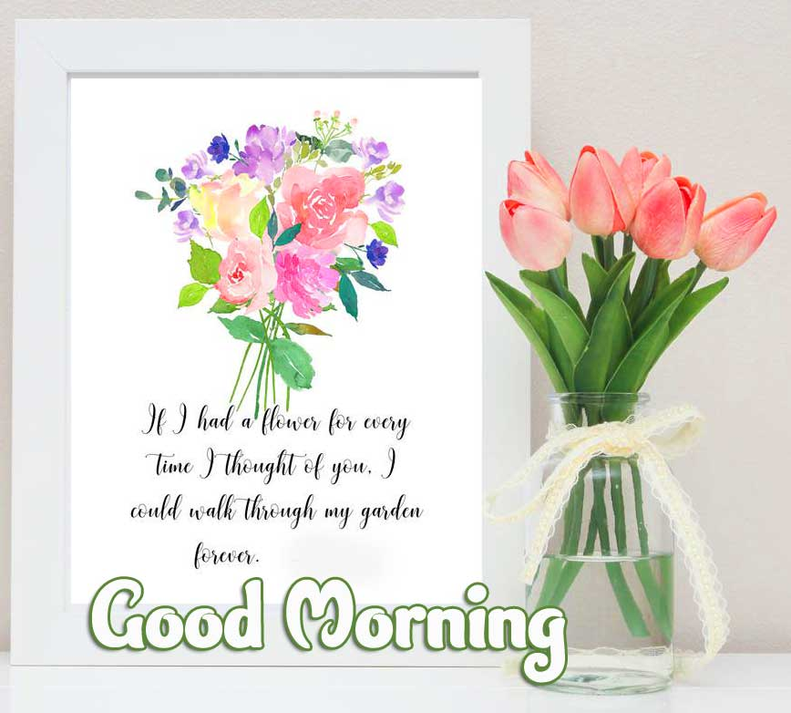 Good Morning Greeting with Beautiful Poetry