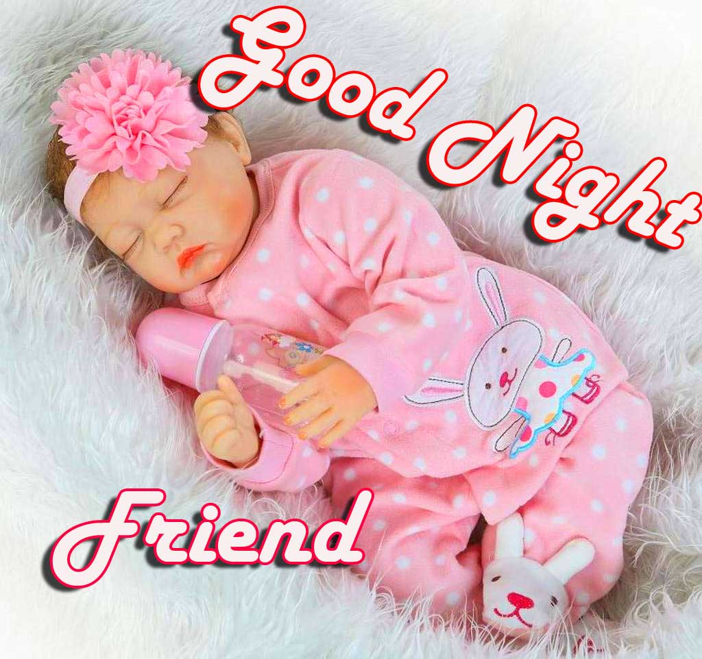 Lovely Good Night Greeting for Your Friend