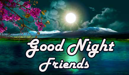 Lovely Good Night Wishing for Your Friends