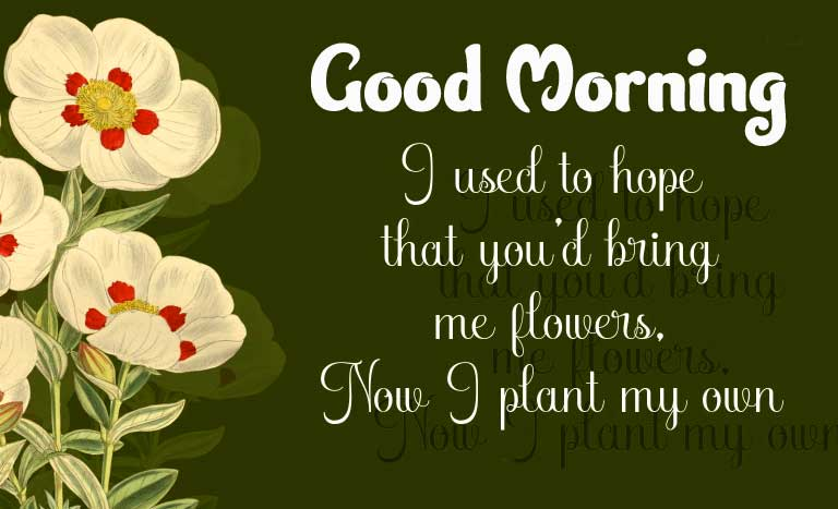 Sad Love Quote with Good Morning Wishing