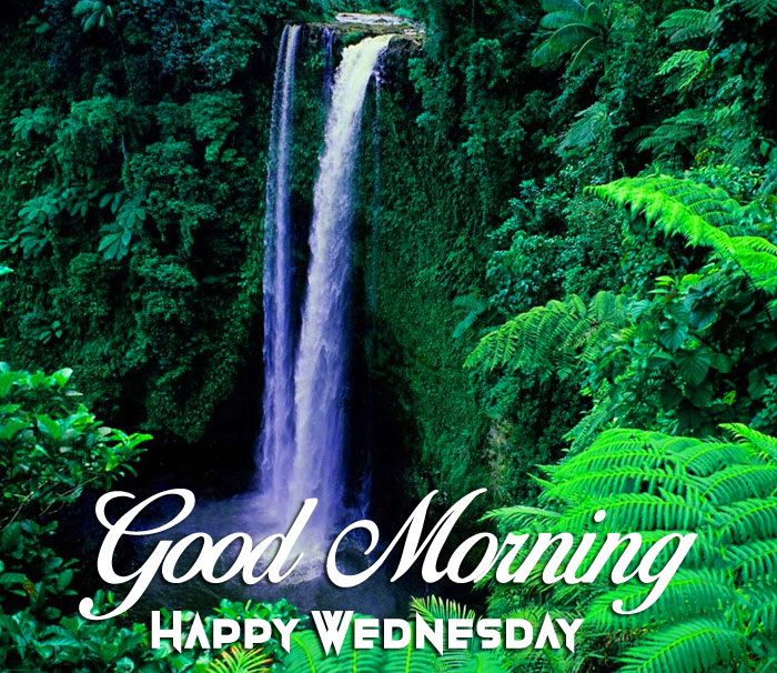 best waterfalls Good Morning Happy Wednesday pics hhd