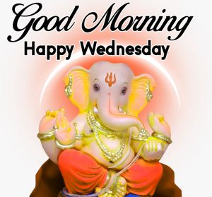 nice Ganesha Good Morning Happy Wednesday