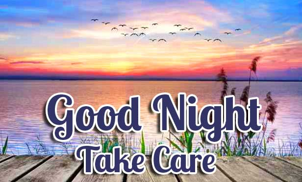 d Wallpaper with Good Night Wishing