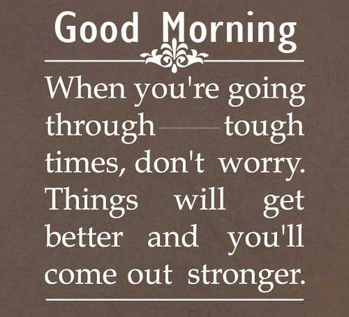 Amazing Good Morning Quoted Image HD