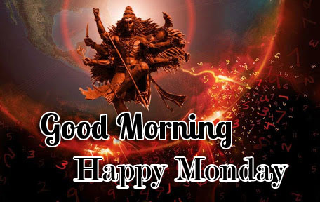 Amazing Lord Shiva Good Morning Happy Monday Wallpaper