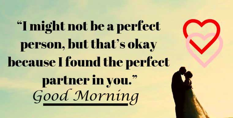 Amazing Quote for Wife with Good Morning Wihsing