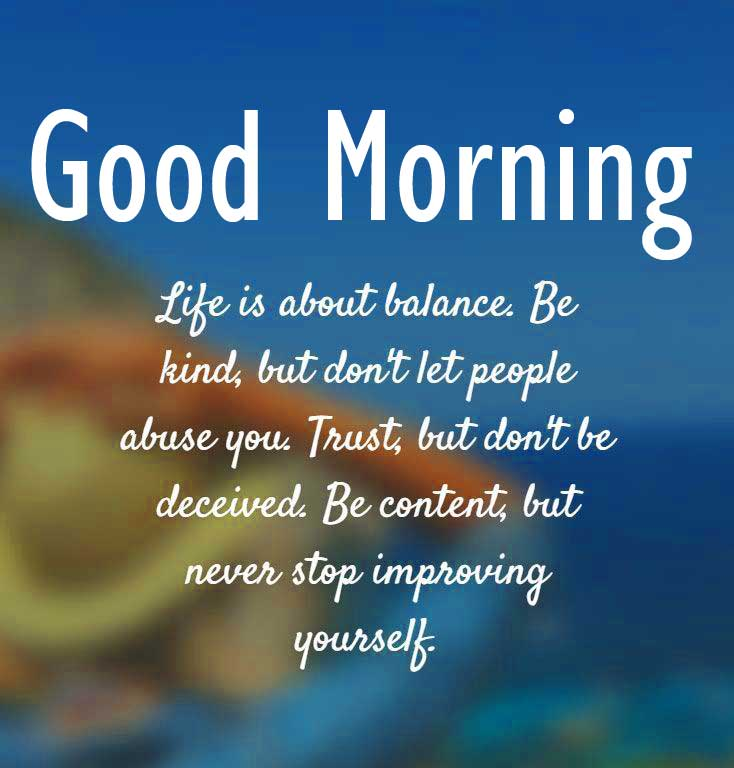 Amazing Quoted Good Morning Image HD D