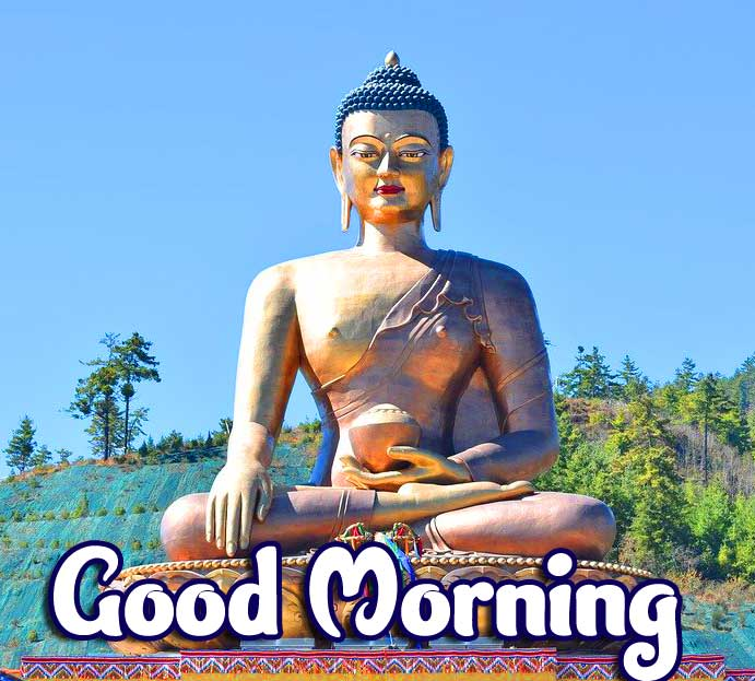 Beautiful Buddha Good Morning Pic HD
