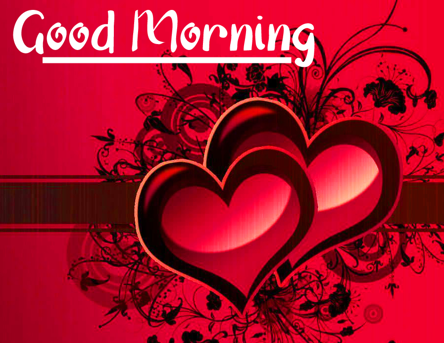 Beautiful Heart Image with Good Morning Message