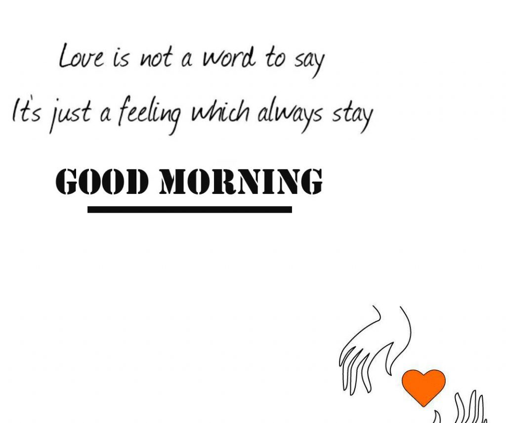 109+ Love Quote Good Morning Images (Latest Pics)