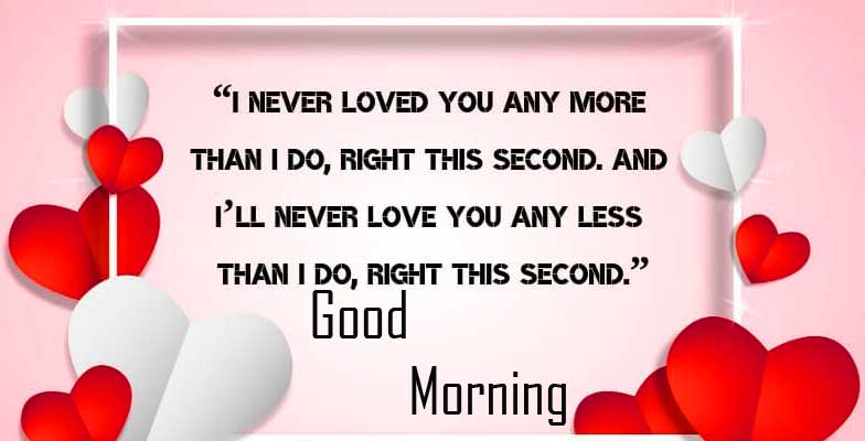 Beautiful Love Quote with Good Morning Wishing
