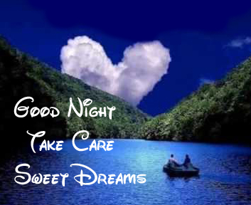 Beautiful Night Scenery with Good Night Wishing