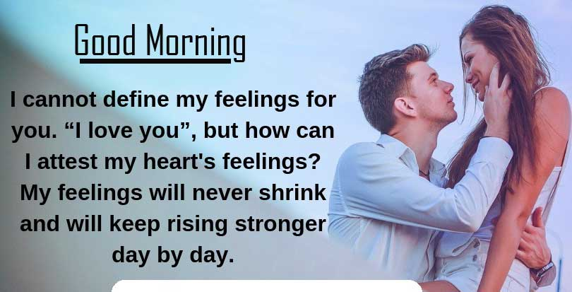 Beautiful Quotes for Wife with Good Morning Wishing