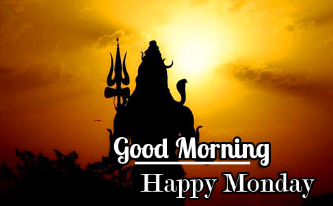 Beautiful Shiva Good Morning Happy Monday Image
