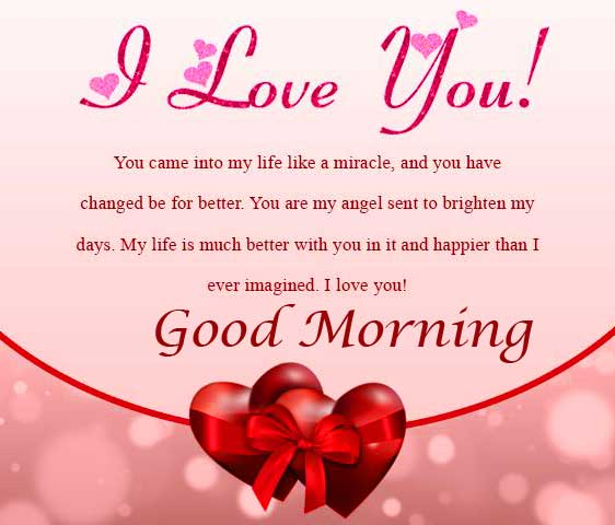 Beautiful Wife Quote Good Morning Image HD