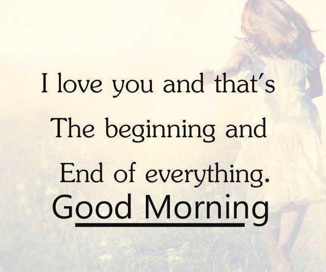 Best Love Quote for Lover with Good Morning Wish