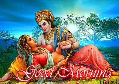 Best Radha Krishna Good Morning Image