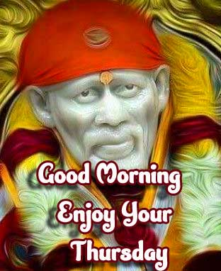 Blessful Sai Baba Happy Thursday Images