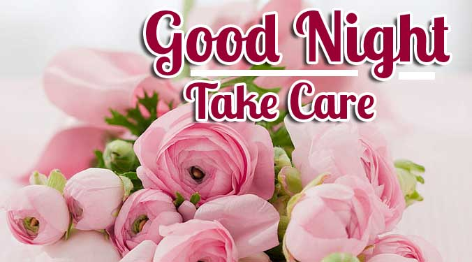 Bouquet of Flowers with Good Night Image Copy